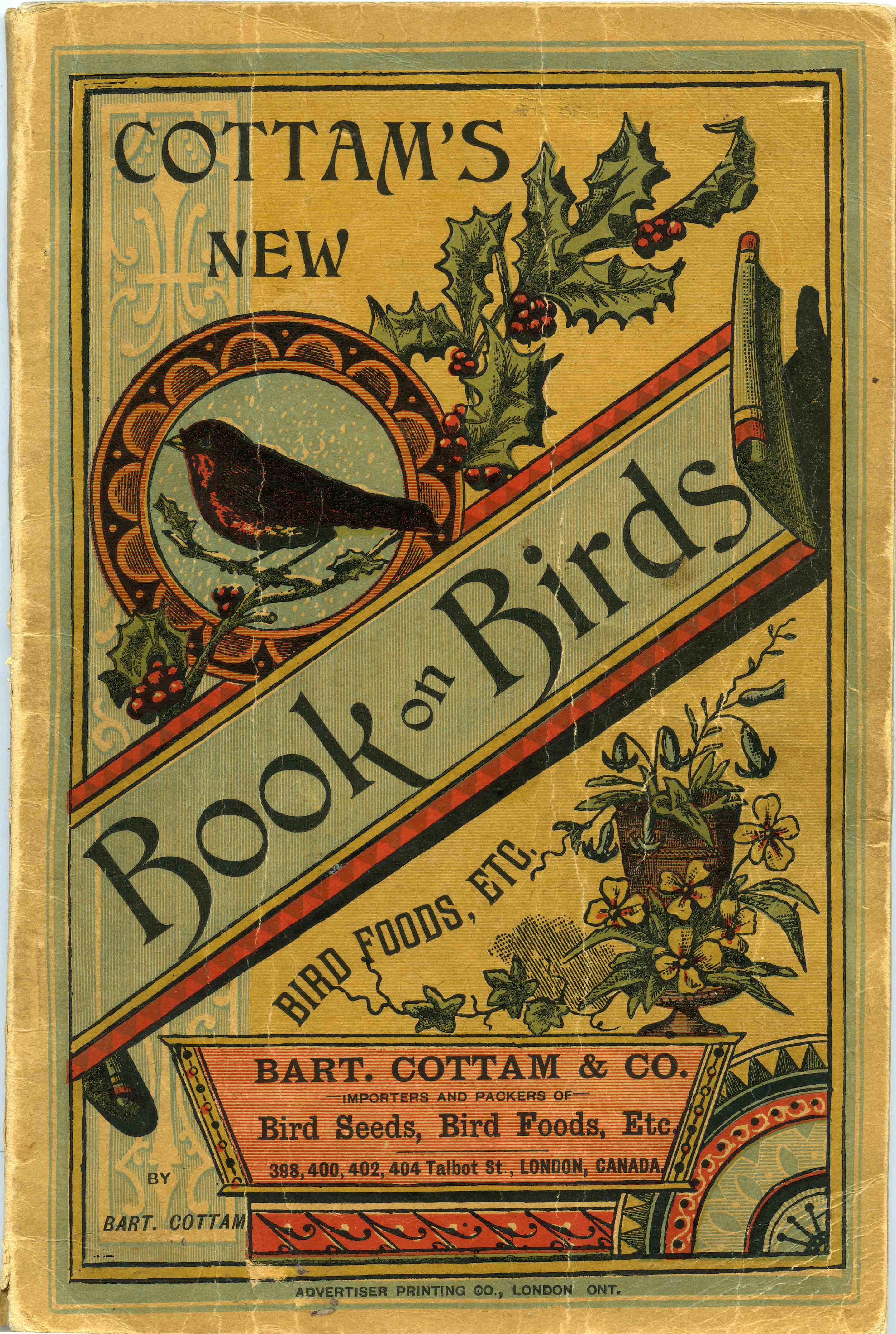 Cottam's New Illustrated Book on Caged Birds