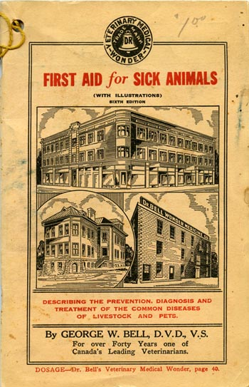 Dr. Bell's First aid for sick animals