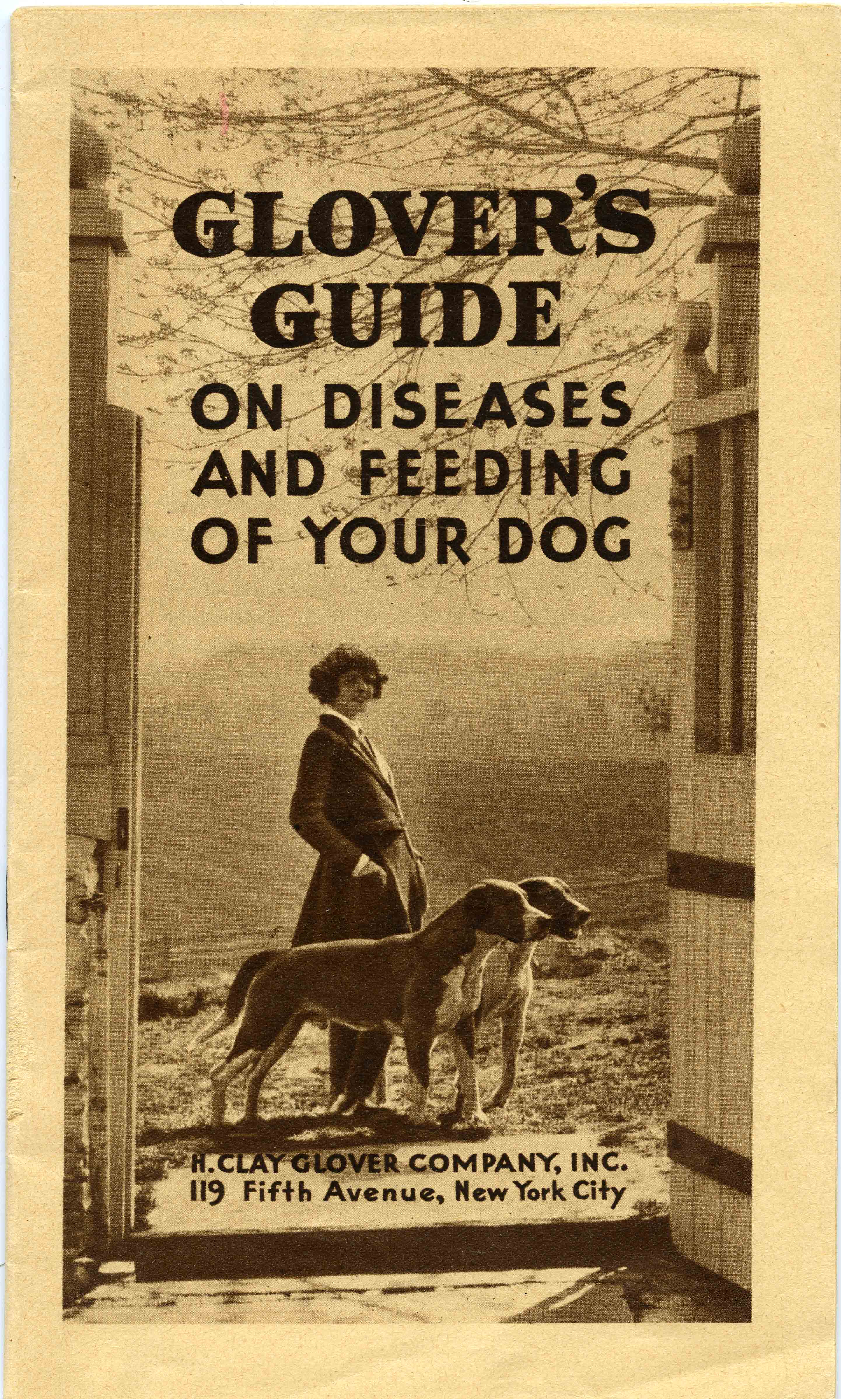 Glover's Guide on Diseases and Feeding of Your Dog