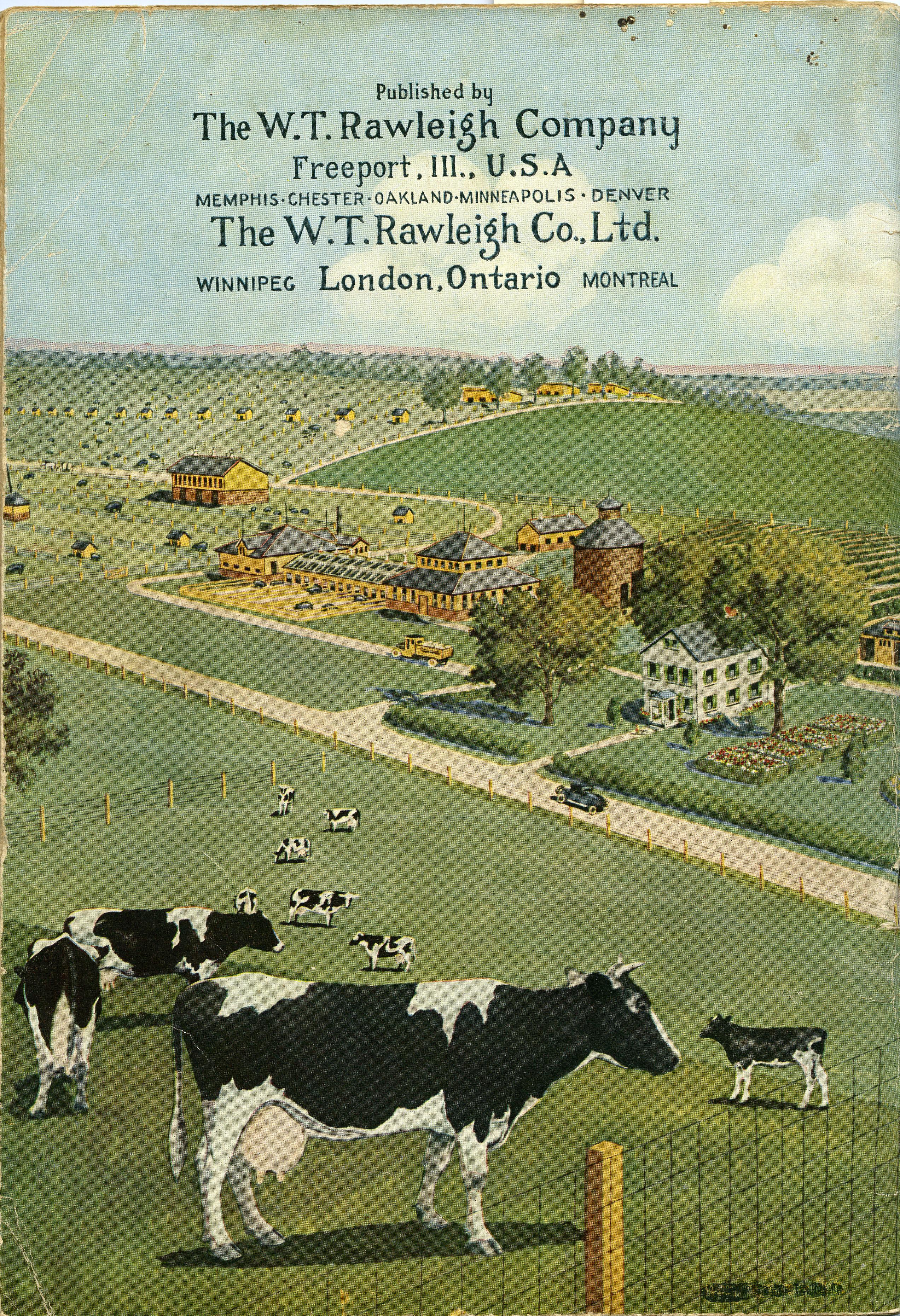 Rawleigh's Ideal Farming Book